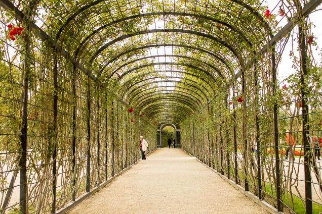 schobrunn jardins