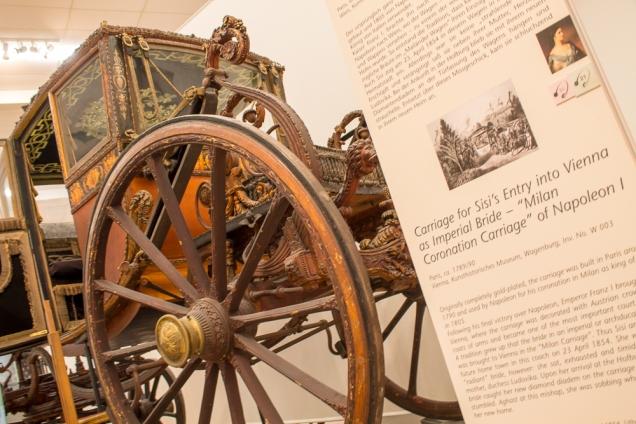 O Museu da Carruagem, anexo ao Schobrunn
