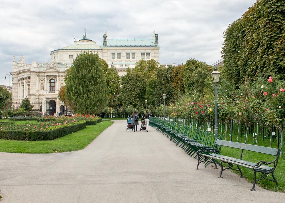 Viena parques Volksgarten