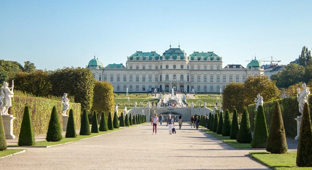 belvedere palácio Viena