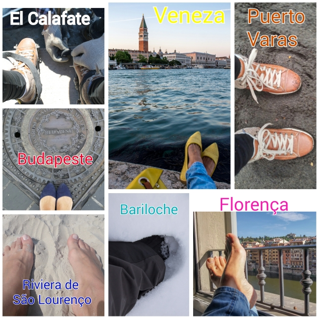 Alguns dos lugares que meus pés pisaram