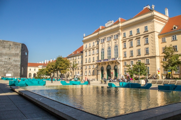 museumsquartier  Viena