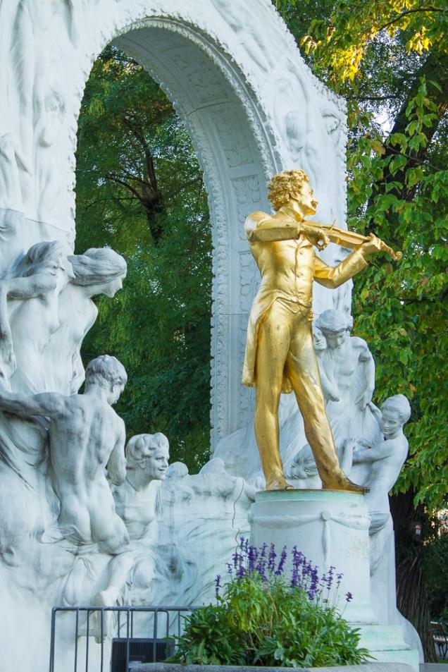 stadtpark Viena Strauss