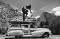Ansel Adams: man at work!