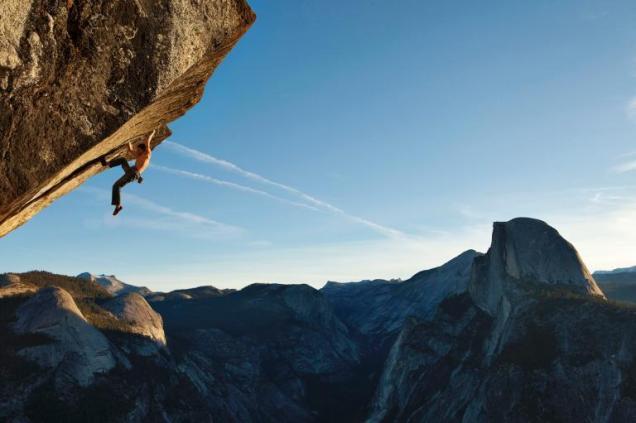 yosemite climber