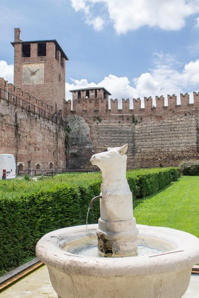 Castelo em verona