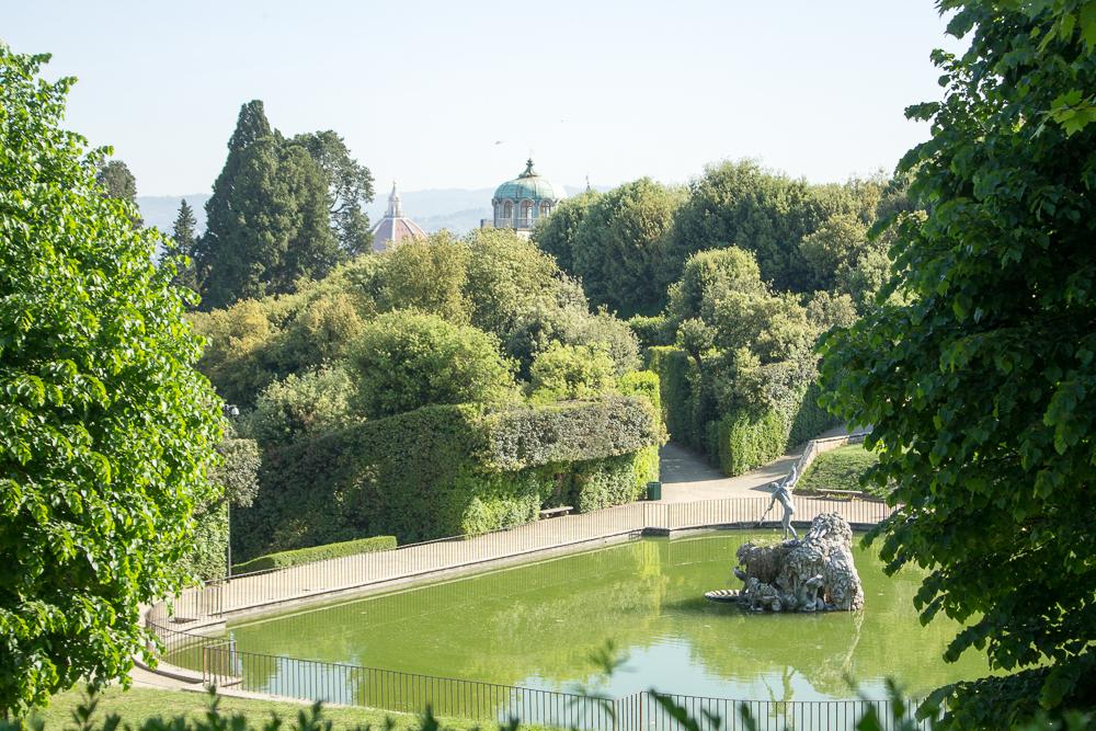 jardim palazzo Pitti