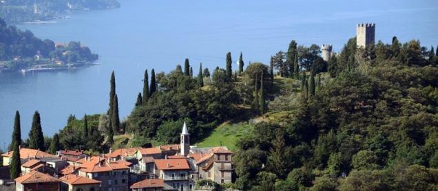 Castelo Vezio, em Varenna