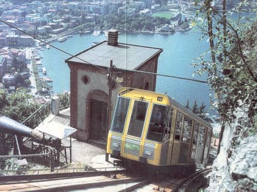 Funicolar Lago Como