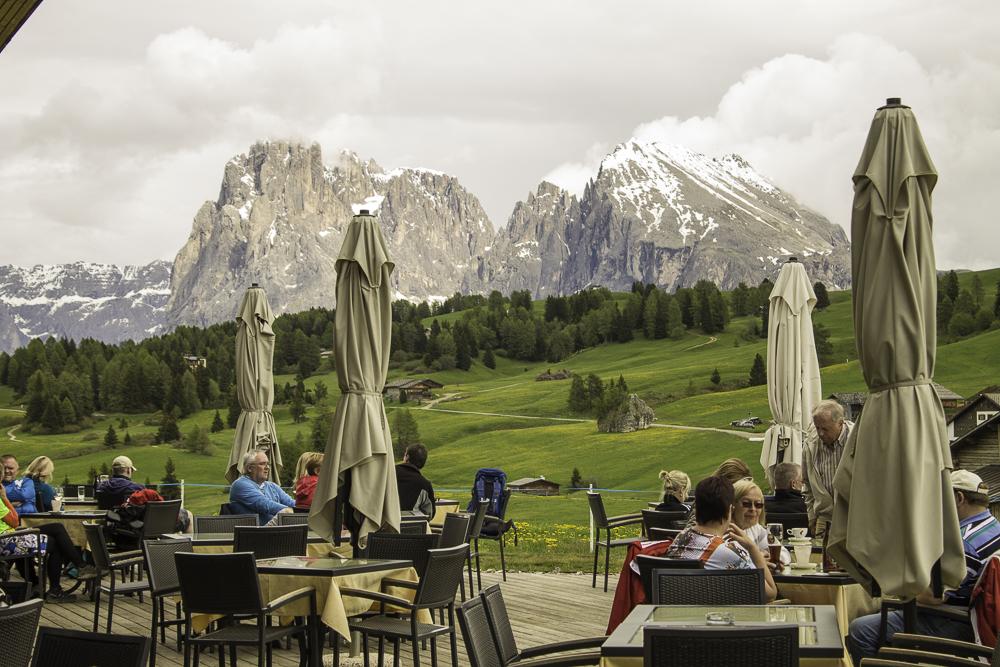 restaurantes nas Dolomitas