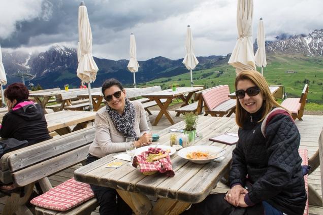 Dolomitas Alpe di Siussi Itália