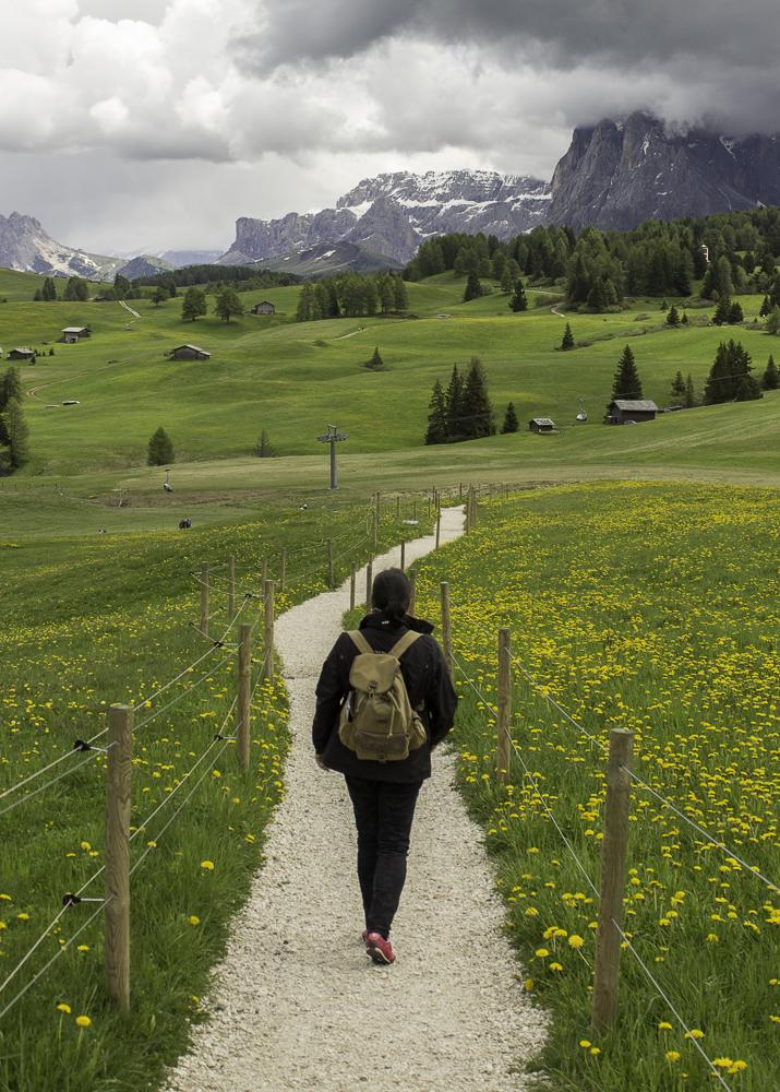 Italia Dolomitas alpe di siusi