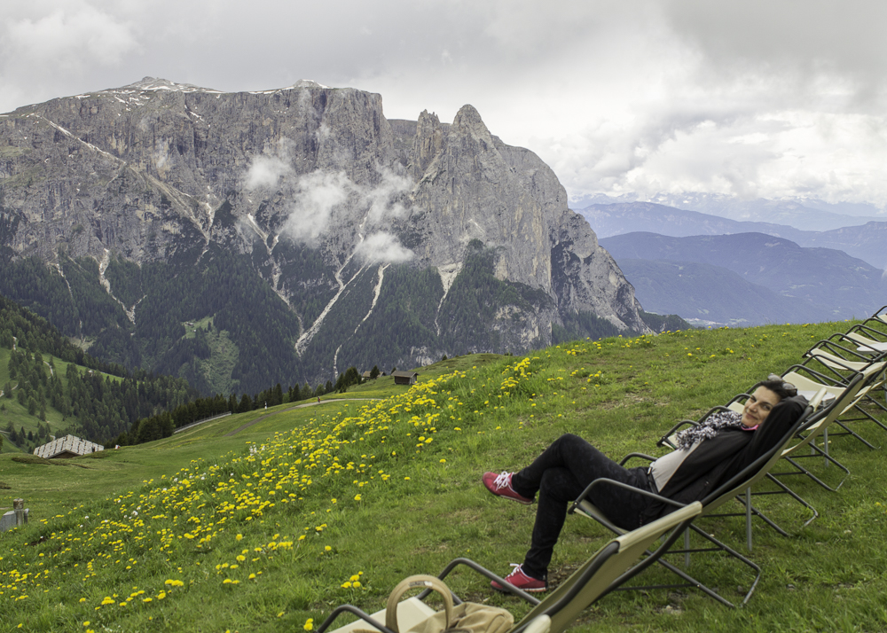 Dolomitas Alpe di Siussi restaurantes