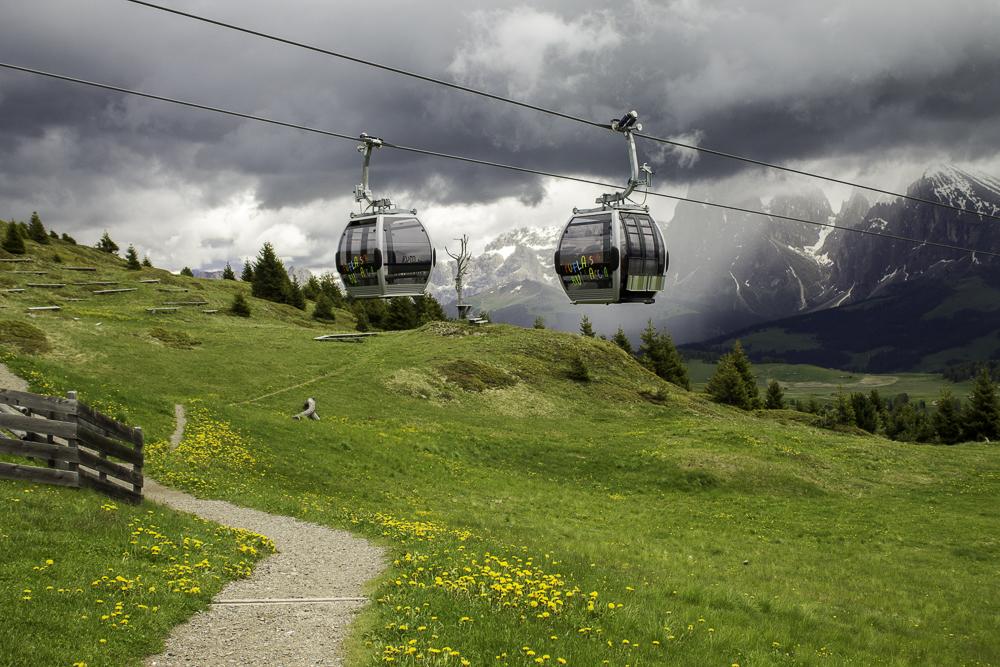 teleférico Alpe di Siusi