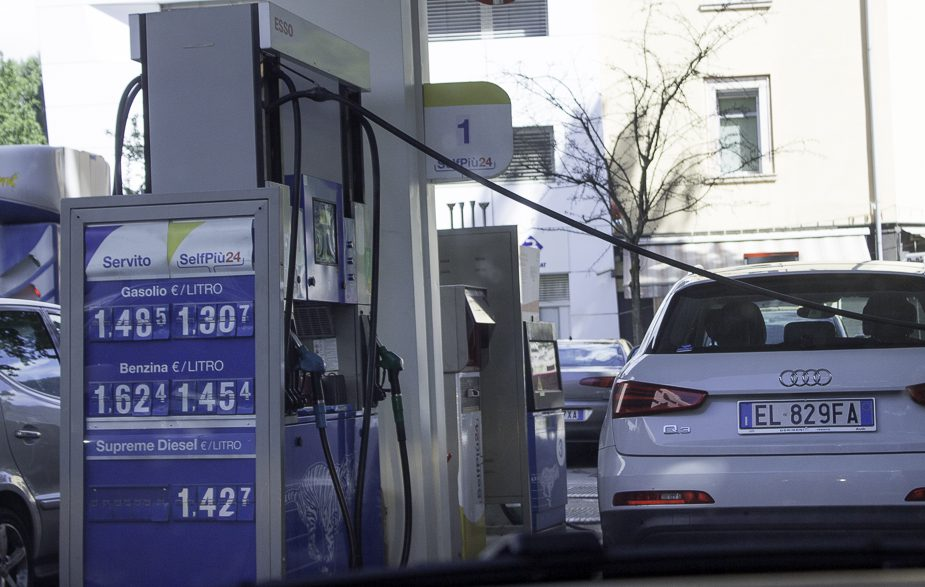 combustível na Itália