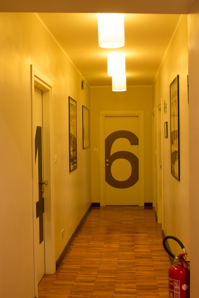 O corredor do SweetDreams