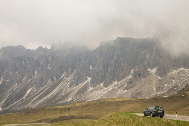 A Grande Estrada das Dolomitas