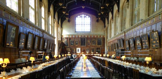 O Hall original, em Oxford