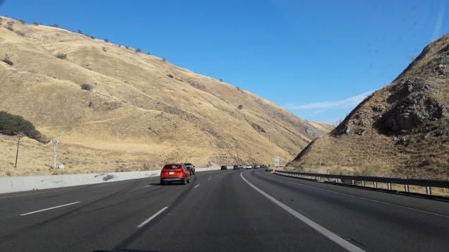 Paisagem da I-5 Norte