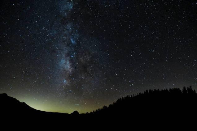O céu de Yosemite, na foto de Patricia S. Gomes