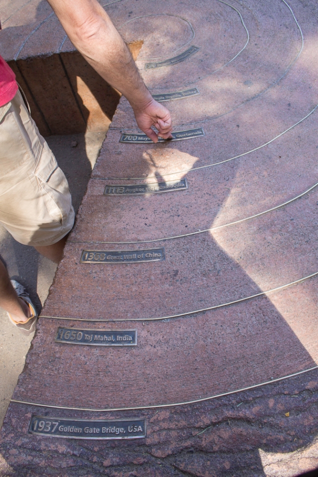 a sequoia gigante ao longo dos séculos