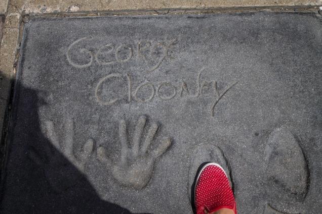 ;geroge Clooney em Hollywood