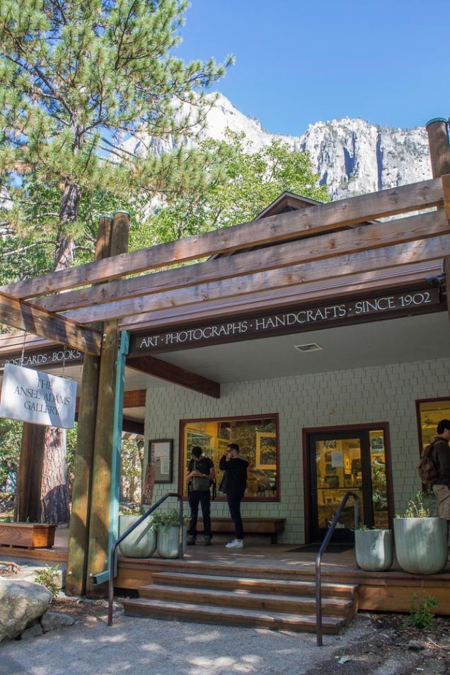 A galeria leva o nome do fotógrafo Ansel Adams