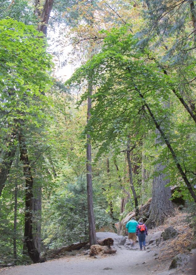 Trilhas em Yosemite