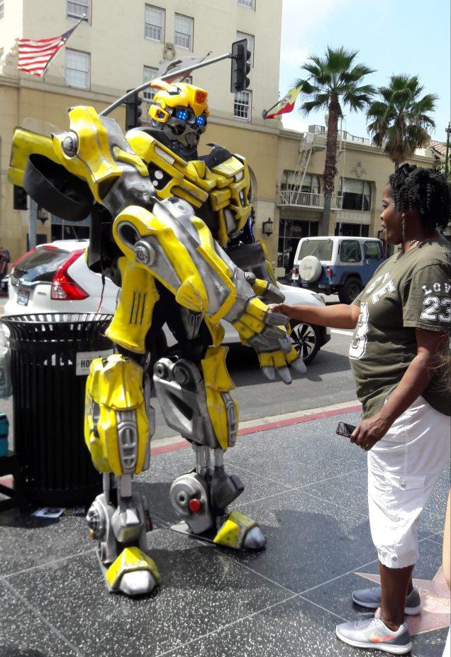 Los Angeles calçada da fama