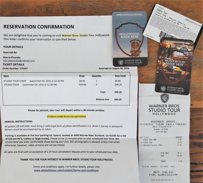quanto custa o ingresso da Warner Studios