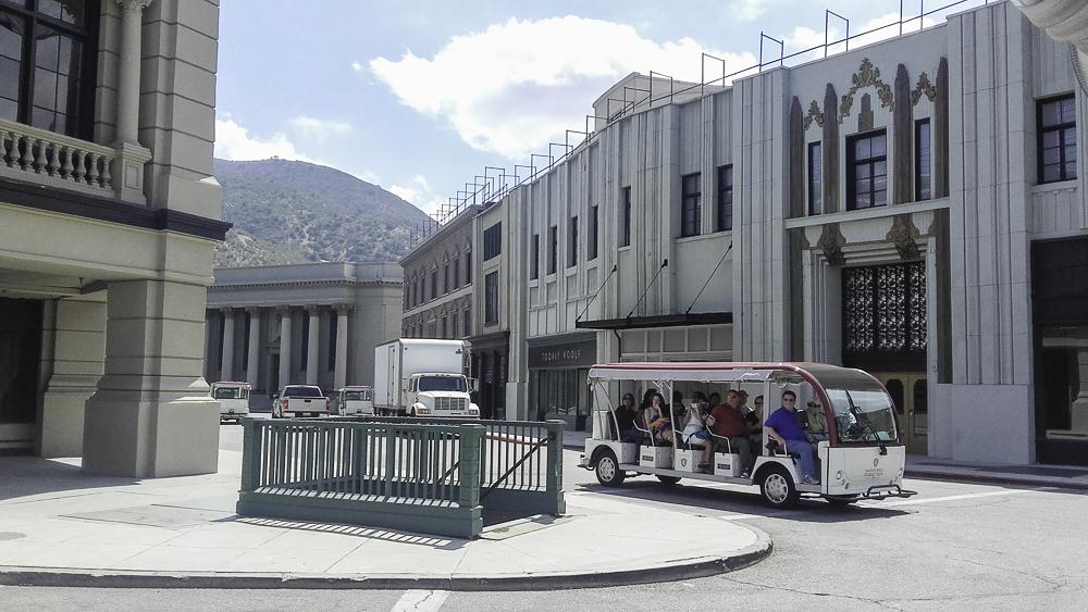 cenários e sets de filmagem em Los Angeles