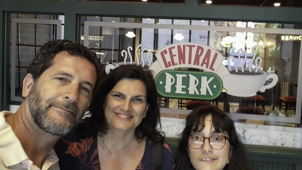 Central Perk Friends em Los Angeles