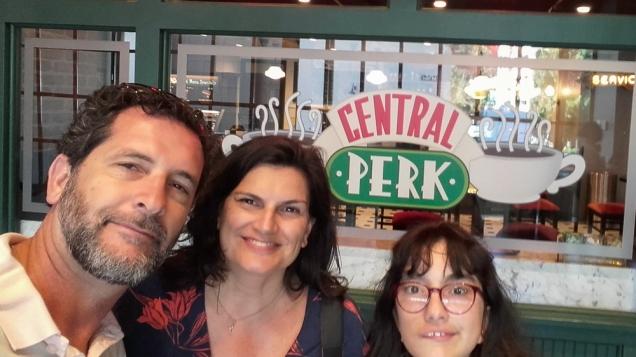 Central Perk Friends em Los Angeles