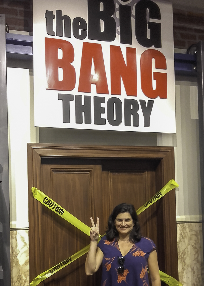 Big Bang Theory em Los Angeles Warner Studios
