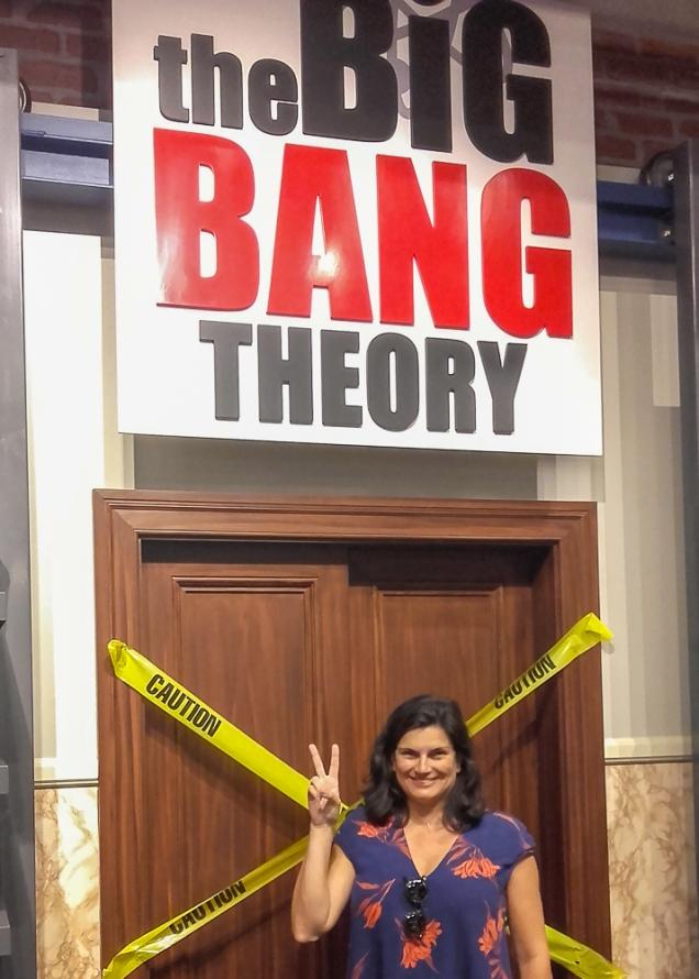 Big Bang Theory em Los Angeles Warner Studios