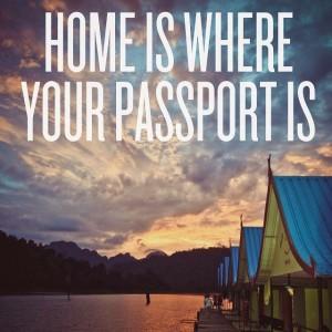 """""""Você se encontra onde seu passaporte estiver"""""""