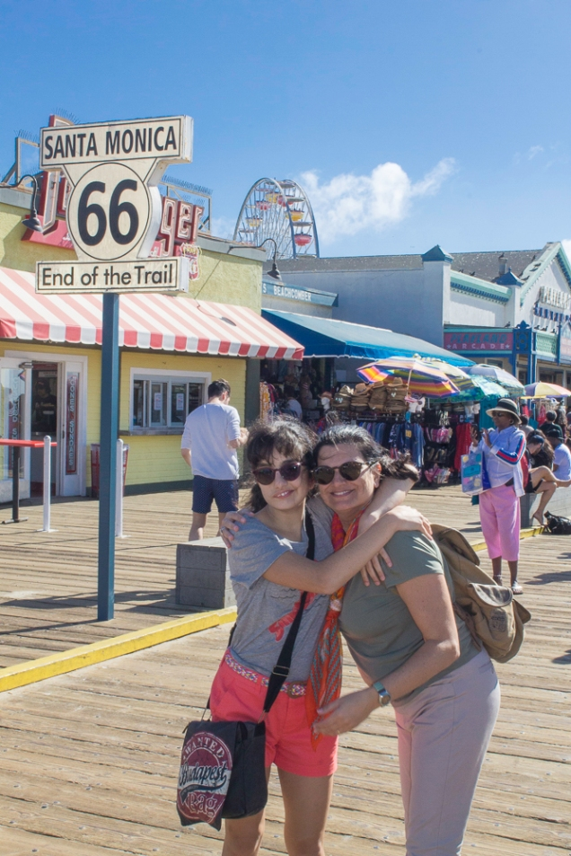 Get your kicks on route 66 - or on Santa Monica Pier!