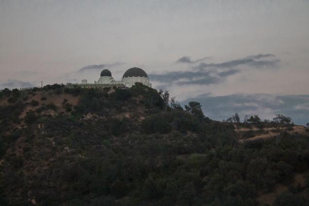 O mais perto que chegamos do Observatório Griffith
