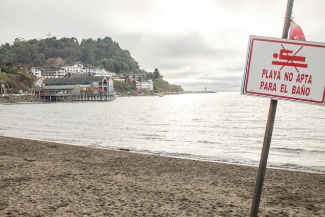 Não vai dar praia!