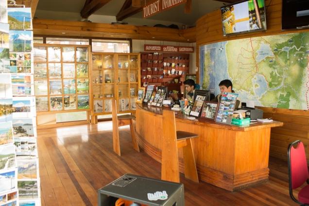 O centro de ifnormações turísticas