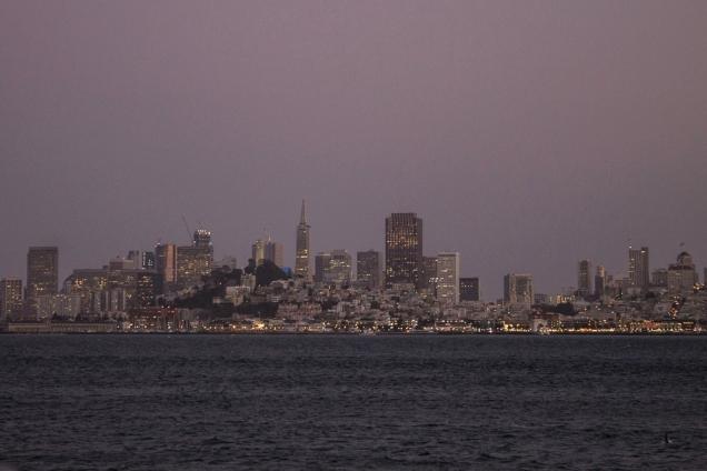 são Francisco skyline