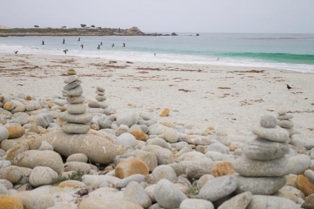 tem pebbles, mas não é Pebble beach.