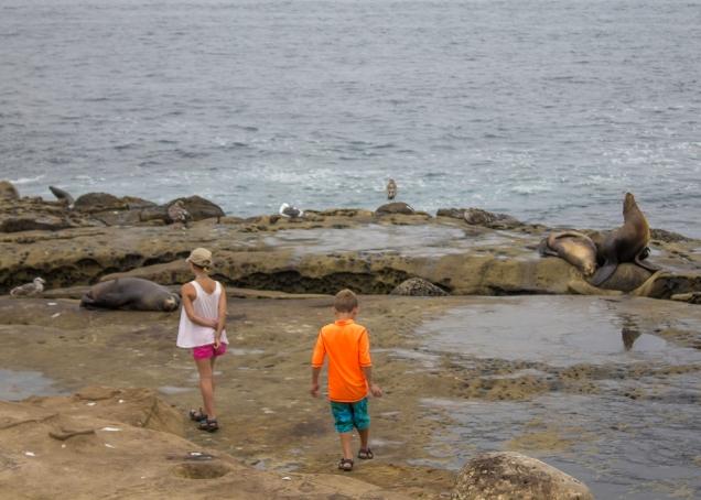 férias com crianças Califórnia