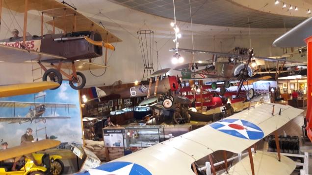 Museu Aeroespacial, no Balboa Park