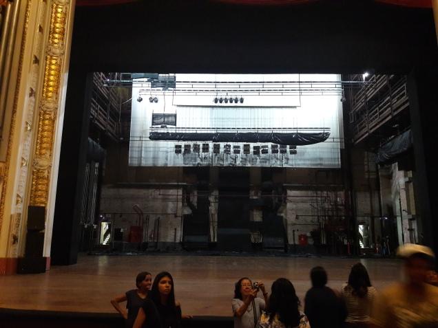 palco do Teatro Municipal de São Paulo