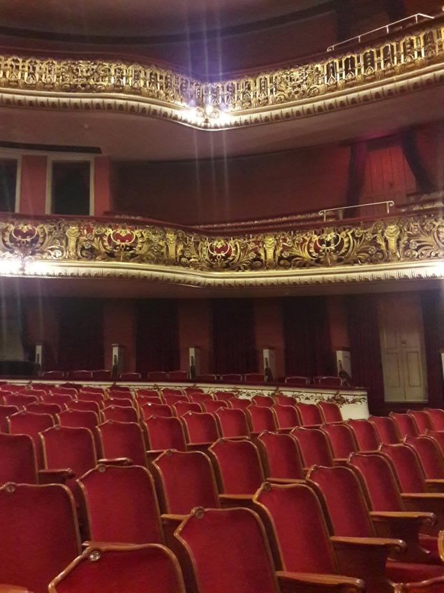 plateia Teatro Municipal