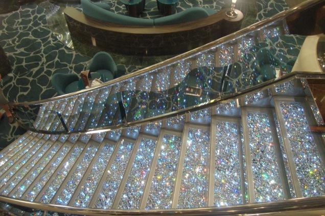 Essa escadaria leva a Oz, com certeza!