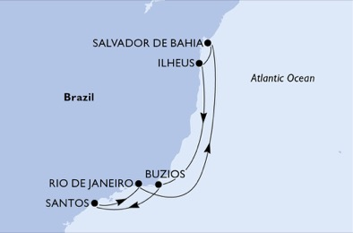 Nosso itinerário