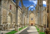 As ruínas da Igreja do Convento