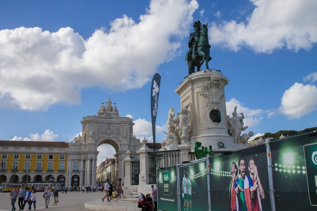 Lisboa Arco da Augusta